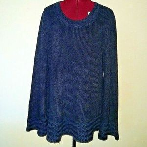 Style & Co. Size Large Sweater Boxy Pullover NWOT